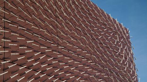 A Weathervane Wall Turns Wind Patterns Into Data Art | Serendipity Café | Scoop.it