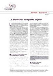 Avis FNAU n°7 : le SRADDET (juin 2016) | Actualités et Publications de l'ADEUPa, de ses partenaires  et du réseau des agences d'urbanisme | Scoop.it