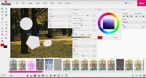 Picozu, un completo editor de imágenes online | Searching & sharing | Scoop.it