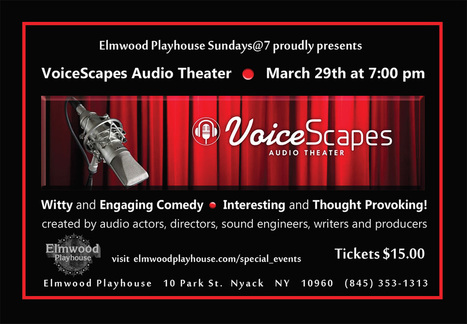 VoiceScapes Audio Theater | In and About the News | Scoop.it