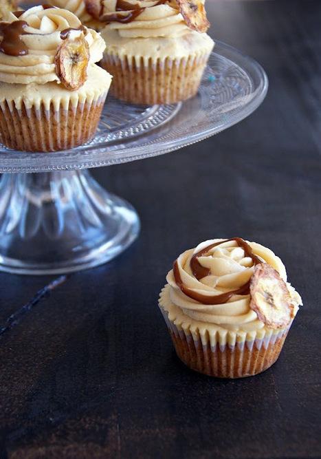 Banofee cupcakes | Una nova dèria: cupcakes | Scoop.it