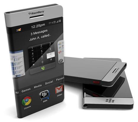 Wrap-around Concept BlackBerry Smartphone » Geeky Gadgets   GOSSIP, NEWS & SPORT!   Scoop.it