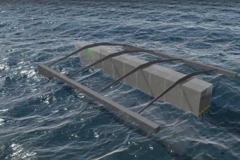 HACE : produire de l'électricité à bas coût avec l'énergie des vagues | EFFICYCLE | Scoop.it