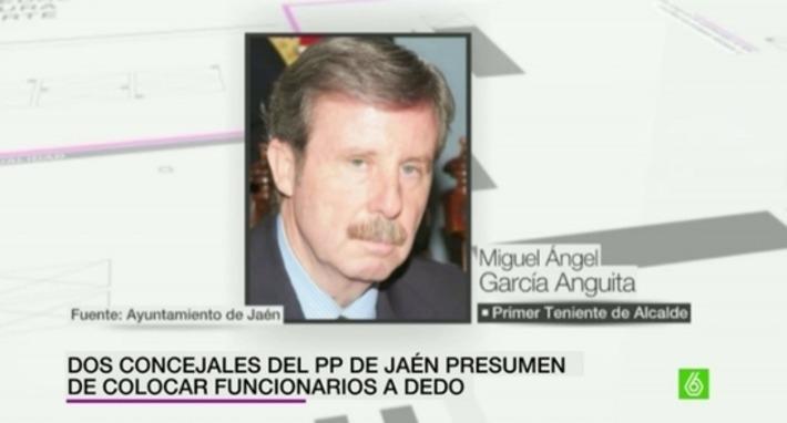 Dos concejales del Partido Popular de Jaén presumen de colocar funcionarios a dedo - laSexta | Partido Popular, una visión crítica | Scoop.it