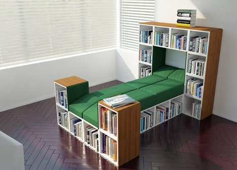 Modular Furniture Made from Recycled Materials Becomes Just about Anything   Global Recycling Movement   Scoop.it