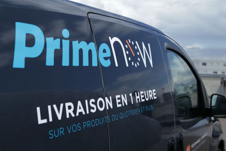 Amazon Prime Now débarque à Paris, avec sa livraison en une heure   Innovation dans la distribution   Scoop.it