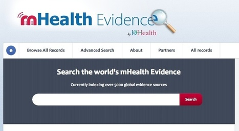 Johns Hopkins launches mHealth Evidence reference site | mobihealthnews | Health stats and digital health cornerstones | Scoop.it