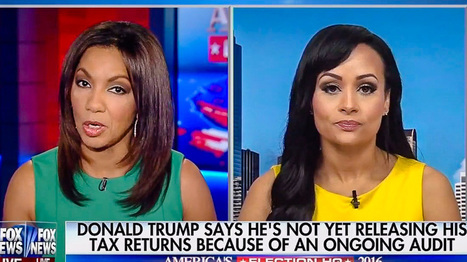 Katrina Pierson Goes Down In Flames Defending Trump's Tax Returns To Fox's Arthel Neville | LibertyE Global Renaissance | Scoop.it