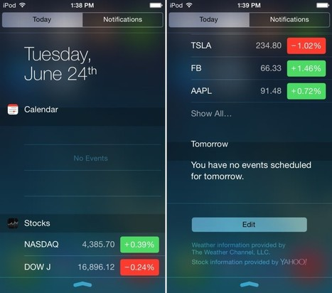 Notific8: make iOS 7′s Notification Center look like iOS 8 | Jailbreak News, Guides, Tutorials | Scoop.it