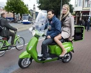 Des taxis scooters électriques pour la ville d'Amsterdam | Social Network for Logistics & Transport | Scoop.it