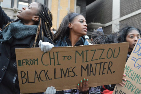 'From CHI To Mizzou,' Loyola Students March Against Racism, Gentrification | Political Media | Scoop.it