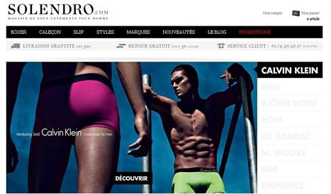 Solendro.com, nouveau portail desous-vêtements masculins | Actualité de l'E-COMMERCE et du M-COMMERCE | Scoop.it