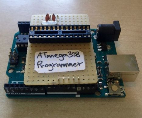 Simple & Cheap Arduino Uno ATmega328 Programmer | Raspberry Pi | Scoop.it