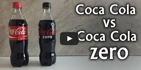 Coca Cola vs Coca Cola Zero - Sugar Comparison [Video] | ahlifikircom | Scoop.it
