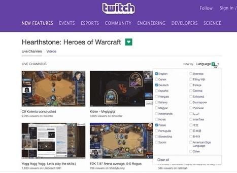 Twitch lanza filtros para que podamos buscar vídeos solo en nuestro idioma | Recull diari | Scoop.it