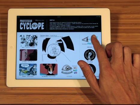 Avec les tablettes, la BD pourrait enfin épouser le Web - Rue89 | le monde de la BD | Scoop.it