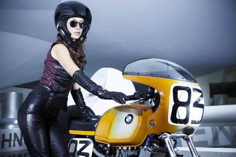 MANUELA RAFFAETÀ AT THE BMW MUSEUM | Vintage Motorbikes | Scoop.it