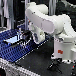 Intel Robot Tests Smartphones Using Fingers That Tap and Swipe   MIT Technology Review   robotics   Scoop.it