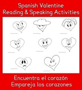 Spanish Valentine Reading and Speaking Activities | My Love for Spanish Teaching | Scoop.it