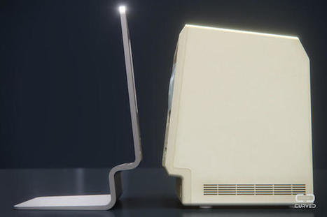 CURVED/labs-Mac concept brings the original Mac up to date   TabletAcademyNW   Scoop.it