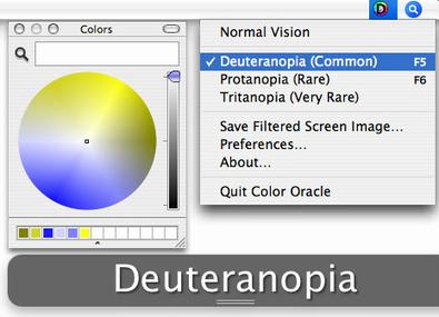 Diseños accesibles para personas con daltonismo con Color Oracle   El Mundo del Diseño Gráfico   Scoop.it