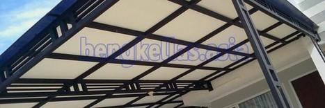 KANOPI MINIMALIS :: Kanopi Rumah Minimalis KM001 | ASIA Bengkel Las | Asia Bengkel Las | Scoop.it