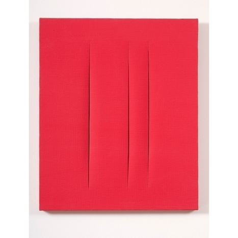 Exposition - Lucio Fontana - MaM - Paris.fr | ART, His Story are Culture for ALL | Scoop.it