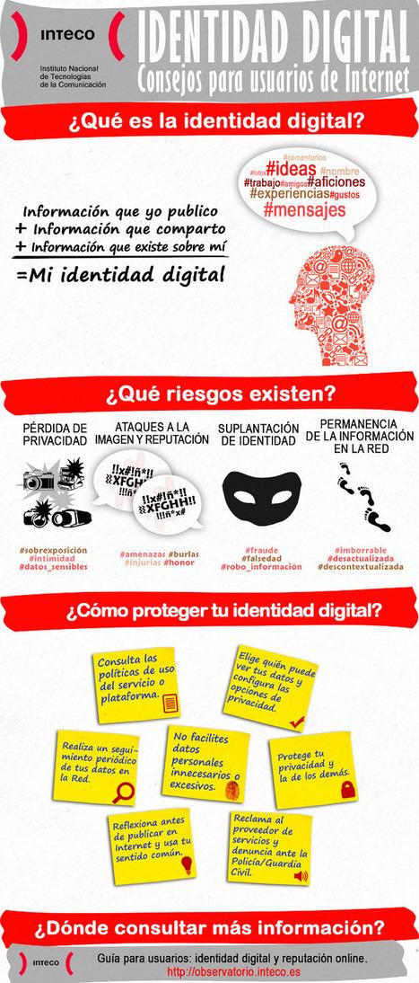Identidad digital: consejos para usuarios en Internet | Bibliotecas y Educación Superior | Scoop.it