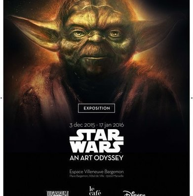 #Culture : Star Wars l An Art Odyssey : Seule exposition officielle Star Wars en France !‏ #Marseille - Cotentin webradio actu buzz jeux video musique electro  webradio en live ! | cotentin webradio Buzz,peoples,news ! | Scoop.it