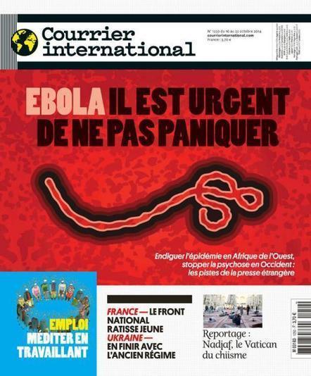 Courrier international | N° 1250 | 16 octobre 2014 | | Revue des unes et des sommaires des abonnements du CDI | Scoop.it