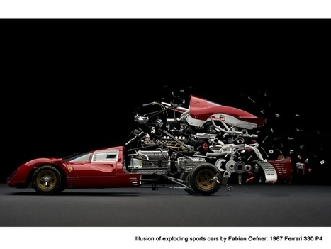 Illusion of exploding sports cars by Fabian Oefner | Rush Lane | The brain and illusions | Scoop.it
