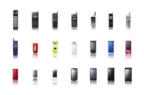 25 Years Of Cell Phones In A Single Image   Alchemy of Business, Life & Technology   Scoop.it
