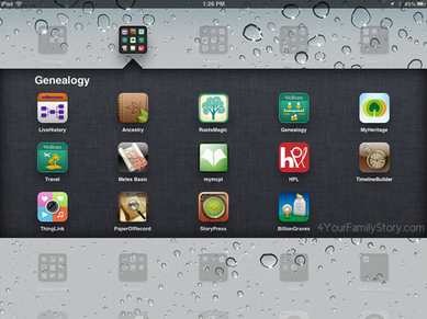 15 iPad Apps I use for Genealogy and Family History | Go Go Learning | Scoop.it