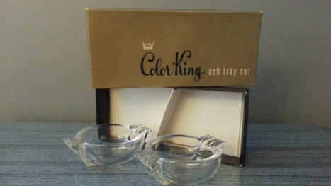 Vintage Mid Century Color King Ash Tray Set | AtomicVault.etsy.com | Scoop.it