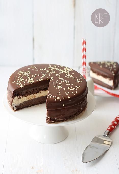 Tarta helada de chocolate y vainilla | Recetas | Scoop.it