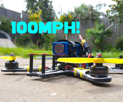 How to Build the Fastest Quadcopter in 3 Hours | Open Source Hardware News | Scoop.it