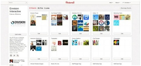 Three Reasons to Use Pinterest to Boost Your Brand Image | Envision Interactive | Dallas, TX | Pinterest | Scoop.it
