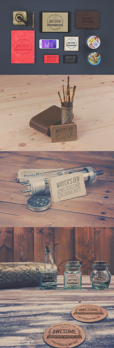 A Collection of Free Branding PSD Mockups | Designer's Resources | Scoop.it