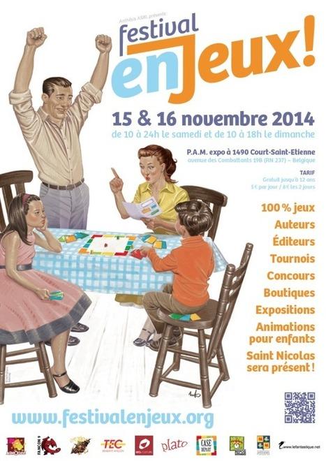 Festival en Jeux - 15 et 16 novembre 2014 | Jeux de Rôle | Scoop.it