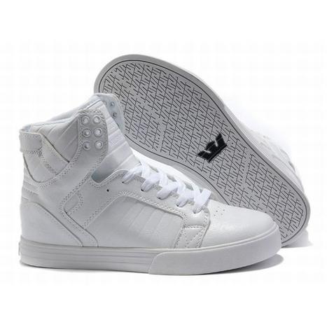 supra high tops white sneakers men size | popular list | Scoop.it
