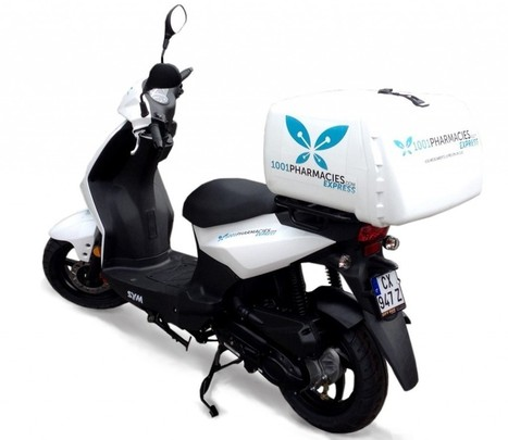 1001Pharmacies.com livre les médicaments à domicile en scooter en moins de 4 heures — Silver Economie | Start-Up | Scoop.it