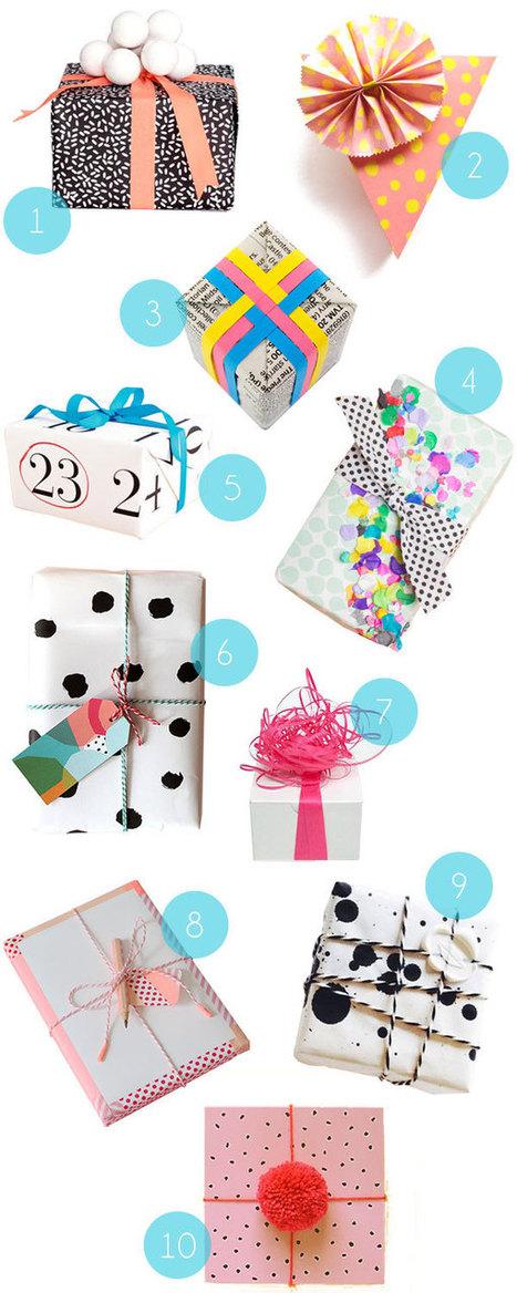 Wrapping Inspiration No. 2 | DIY pour enfants | Scoop.it