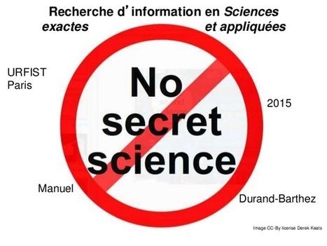 recherche d'informations en sciences | Outils et  innovations pour mieux trouver, gérer et diffuser l'information | Scoop.it