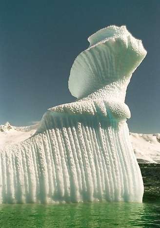 Nature's Iceberg Sculpture | Natural Sculptures | Scoop.it
