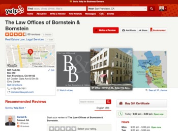Help us hit 100 Yelp Reviews this month! | Bornstein  Law + BPG Insights | Scoop.it