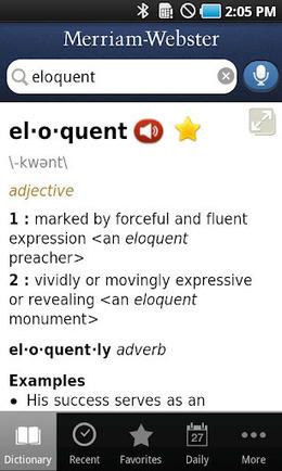 Dictionary Merriam Webster Premium v1.3 AndroidCruze | bumps | Scoop.it