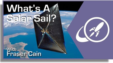 What Is A Solar Sail? #SolarPower   Heron   Scoop.it