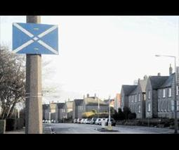 Evening Express - Article - Saltires flagging up a mystery across Aberdeen   My Scotland   Scoop.it