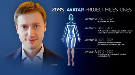 L'immortalité pour les Hommes en 2045 : Découvrez le projet fou de Dmitry Itskov - L'actu qui buzze   Insolite, Weird News   Scoop.it