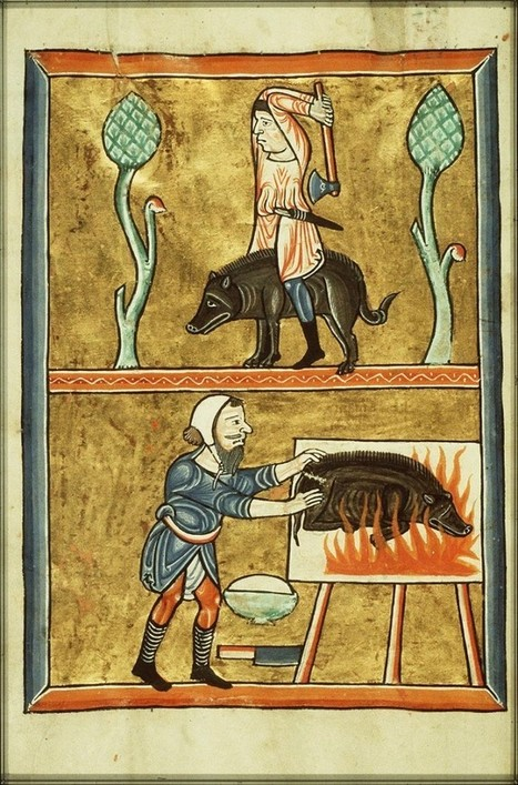 Two Medieval Monks Invent Dinner Parties | Development of Europe | Scoop.it